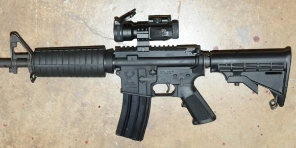 Photo's of mass murderer's weapons Jacob-roberts-evidence-2