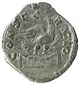 Denario de Marco Aurelio. CONSECRATIO. Águila sobre altar 44843-2