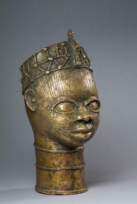 Afrička skulptura BronzeSculpture_CommemorativeHead