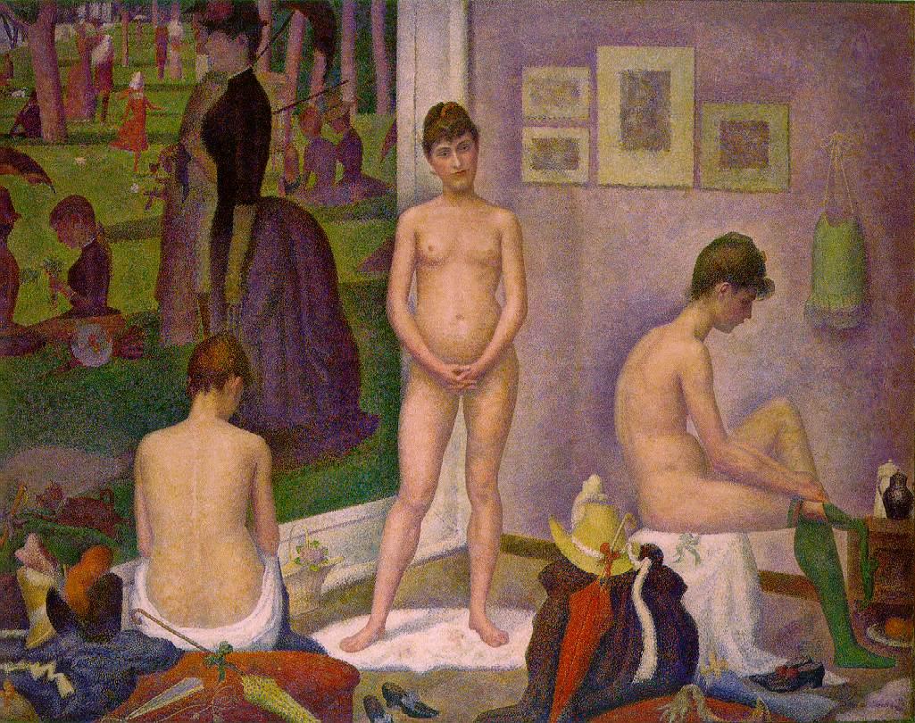 Georges-Pierre Seurat, (1859 - 1891) 434