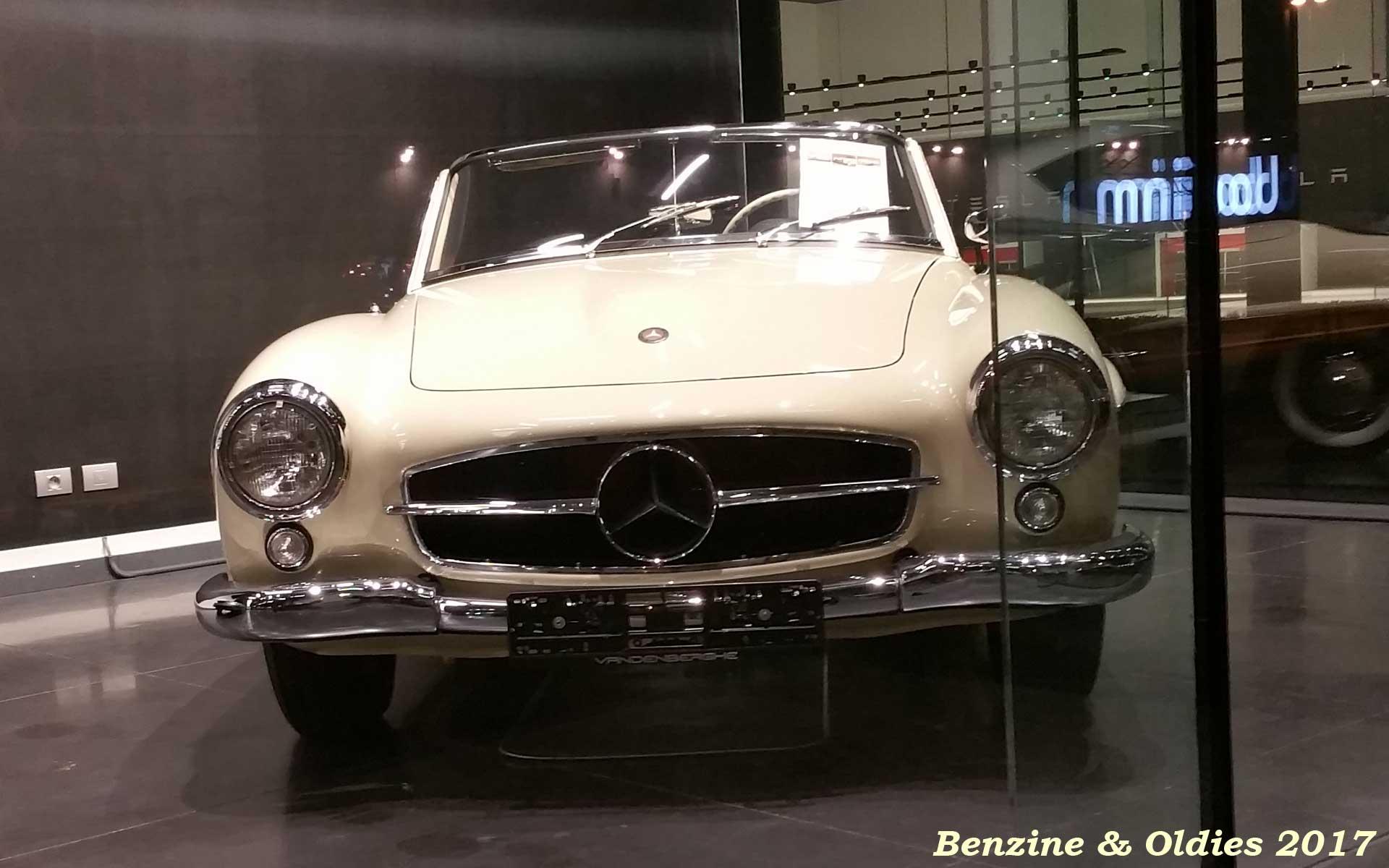 Une Mercedes-Benz 190 SL - w121 b2 - à vendre chez Vandenberghe à Sint-Martens-Latem (Belgique) Mb_w121b2_190_sl_street_170321_02_w1920