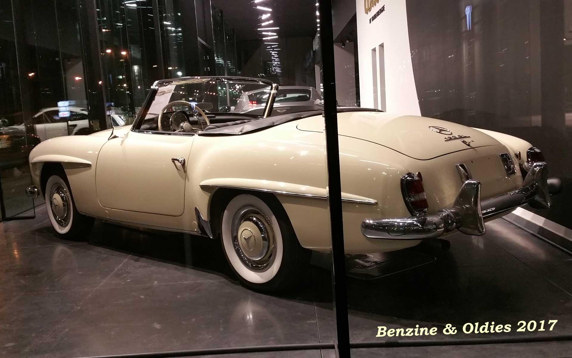 Une Mercedes-Benz 190 SL - w121 b2 - à vendre chez Vandenberghe à Sint-Martens-Latem (Belgique) Mb_w121b2_190_sl_street_170321_06_w1920