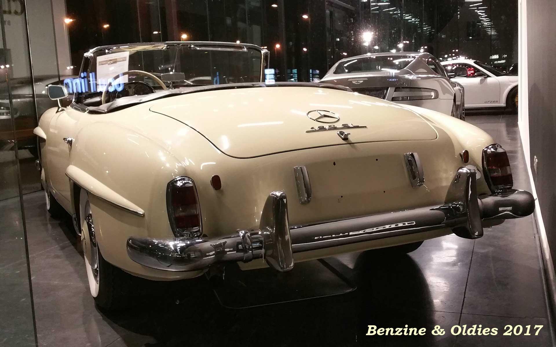 Une Mercedes-Benz 190 SL - w121 b2 - à vendre chez Vandenberghe à Sint-Martens-Latem (Belgique) Mb_w121b2_190_sl_street_170321_07_w1920