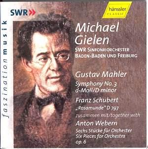 Mahler- 3ème symphonie Mahler3_Gielen