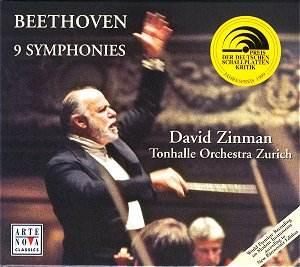 Beethoven - Beethoven 1ère symphonie Beethoven_Zinman_74321654102