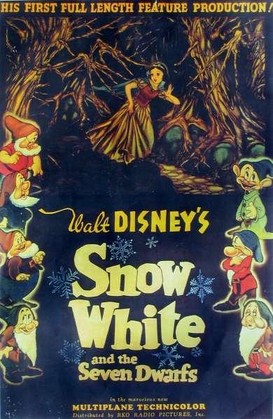 Blanche Neige et les Sept Nains [Walt Disney - 1937] Snow_White_RKO