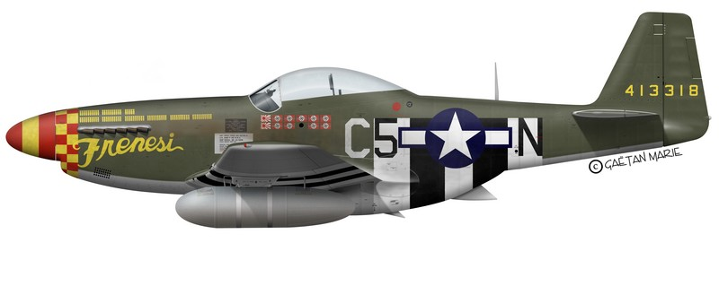 "[TAMIYA -1/32] P-51D 44-13318 ""Frenesi"" 357thFG 364th FS Colonel Thomas L Hayes Frenesi"
