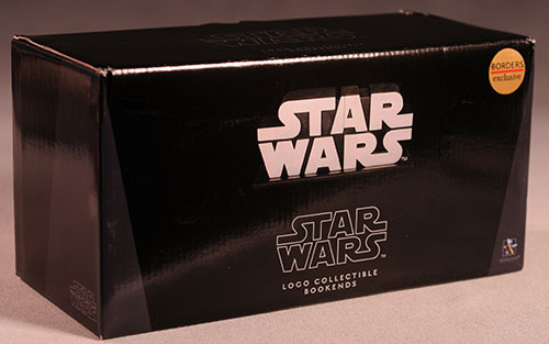 Gentle Giant - star wars logo book ends Review_swlogo_2