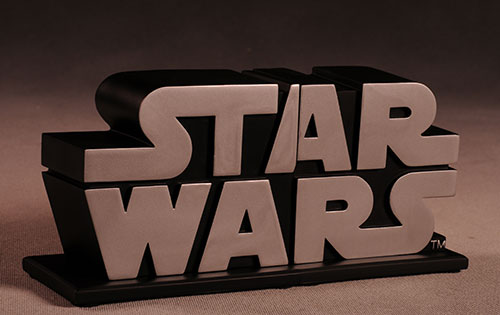 Gentle Giant - star wars logo book ends Review_swlogo_3