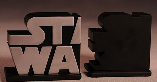 Gentle Giant - star wars logo book ends Review_swlogo_6