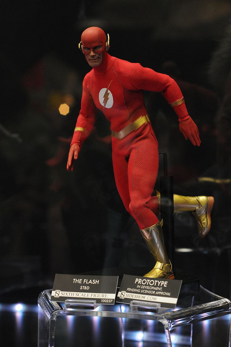[Sideshow] DC Comics: Flash Sixth Scale Figure Sdcc2014_sideshow_120