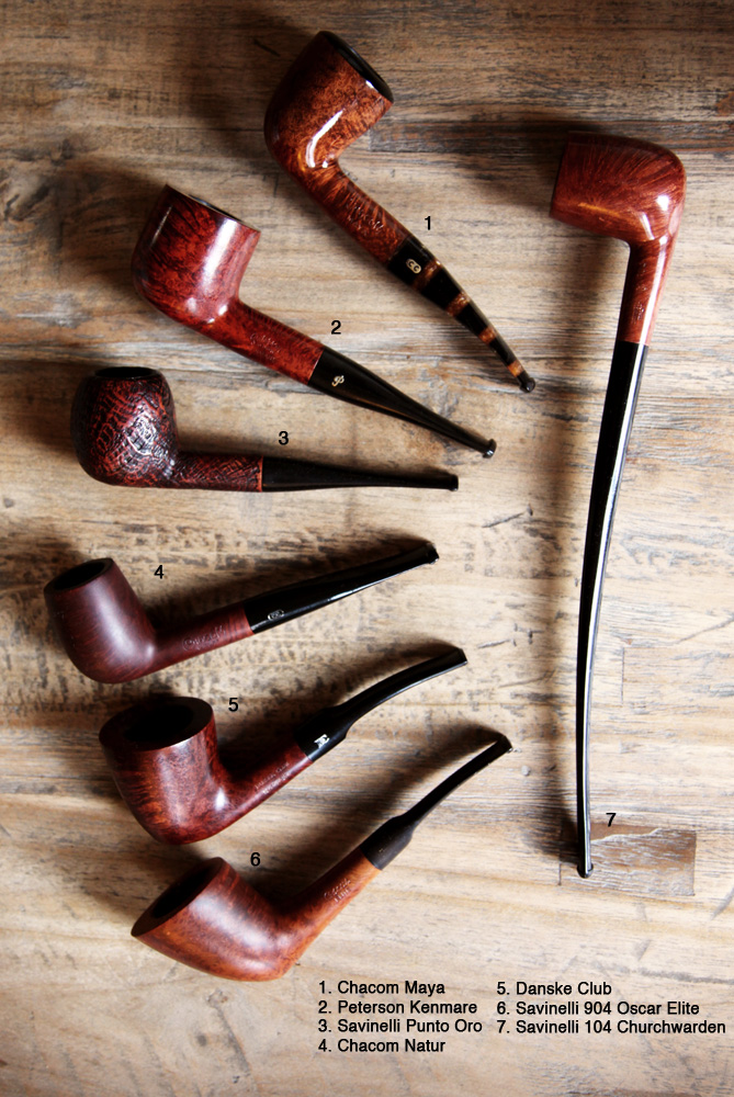 A budding collection Pipes