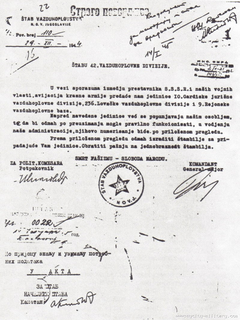 Stvaranje i razvoj vazduhoplovstva NOVJ (1942 - 1945) 18848_43904498_sporazum%20sa%20crvenom%20armijom