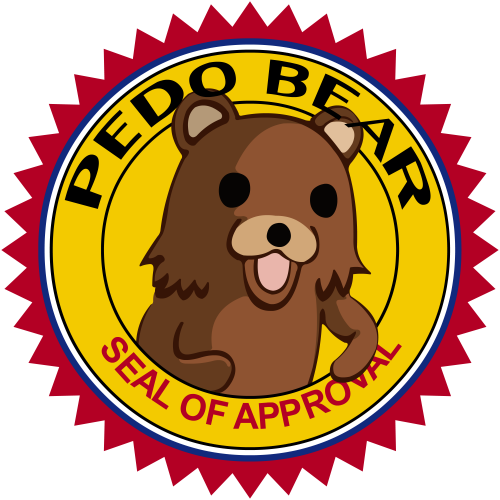 [Shared with Zero] ;;SLENDERMAN;; [APPROVED, 1-2] Pedo-bear-seal-of-approval.thumbnail