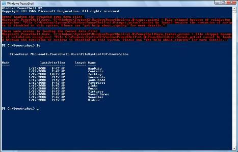 07/09/2008_Microsoft Windows 7 (Seven) - O mais esperado subtituto do vista! 7powershell