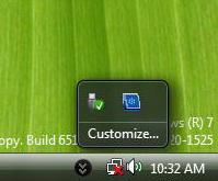 07/09/2008_Microsoft Windows 7 (Seven) - O mais esperado subtituto do vista! 7systray