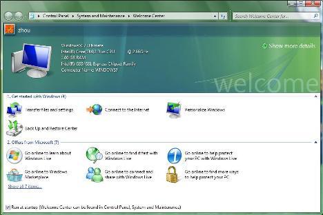 07/09/2008_Microsoft Windows 7 (Seven) - O mais esperado subtituto do vista! 7welcomcenter