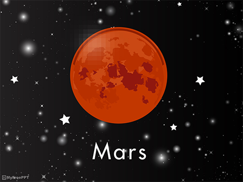 Ancient Tomb Located On Mars? Mars-PowerPoint-Template