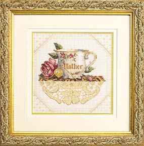 Викторианский стиль в вышивке от Сэнди Клоу DMS-06709