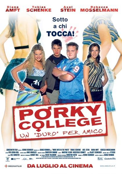 Porky college: un duro per amico Locandina