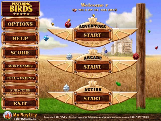 ~Action games~ Pbirds01