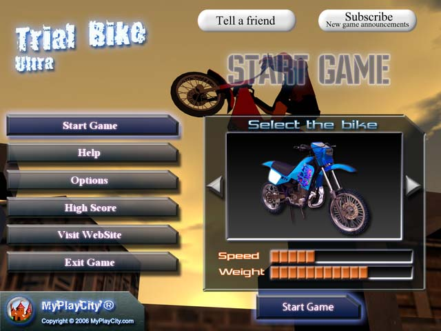 ~Action games~ Trialbike01