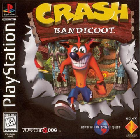 جميع إصدارات لعبة السيارات الرائعة Crash Bandicoot PS1 .. تحميل مباشر وعلى أكثر من سرفر Crash-Bandicoot-1
