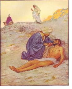 La Bonne Nouvelle du Christ annoncée à tous les Peuples! - Page 4 The-parable-of-the-samaritan