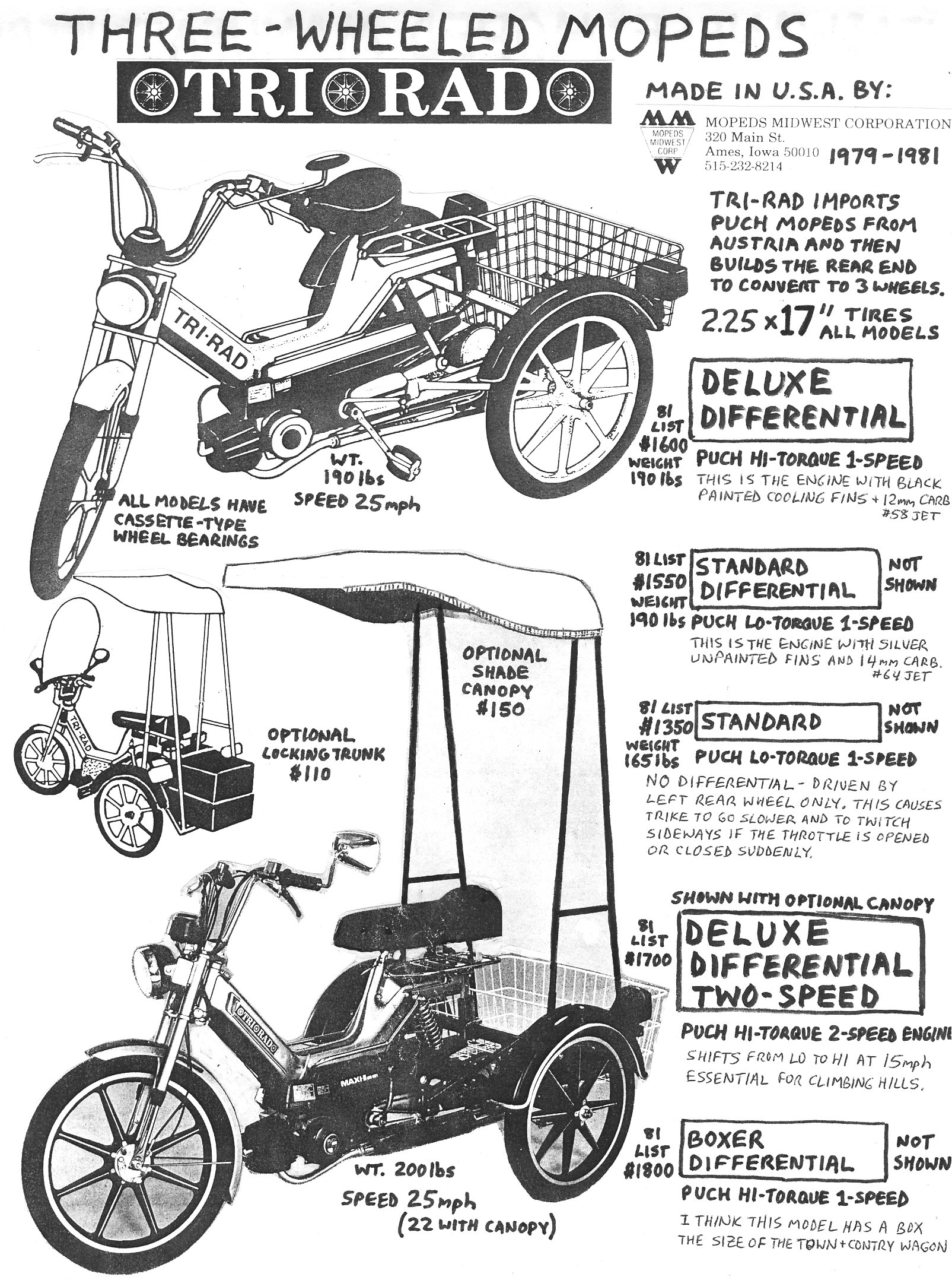 Puch Magnum 3 ruedas Info-Three-Wheeler-1