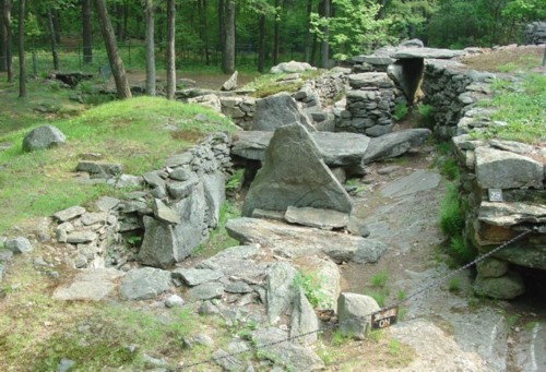 Who Built America's Stonehenge 4,000 years ago ??  Mystery-Hill-Main-Complex