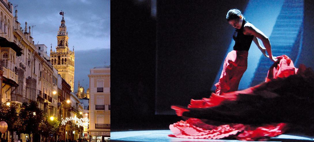 Španija  Flamenco-in-Seville-Spain