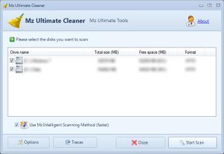 تحميل برنامج تنظيف الحاسوب ومخلفات الانترنت Mz Ultimate Cleaner  Mz_ss_uc