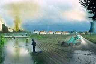 عالم البيئة 9 Pollution