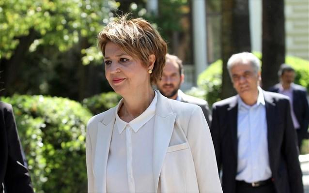 Όλγα Γεροβασίλη: Δεν είναι χρήσιμες οι εκλογές αυτή τη χρονική στιγμή Olga-gerobasili