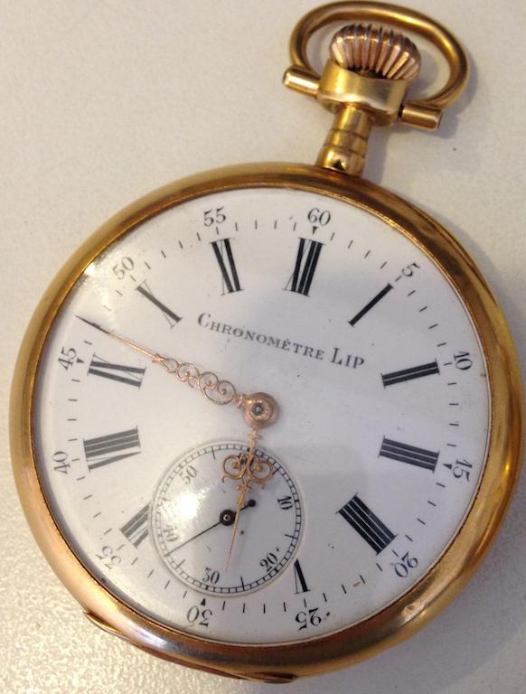 Gousset chronomètre LIP Lip1
