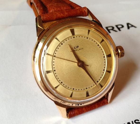 Lip, Ancienne Manufacture, Fleuron de l'horlogerie Française Liphimalayaor