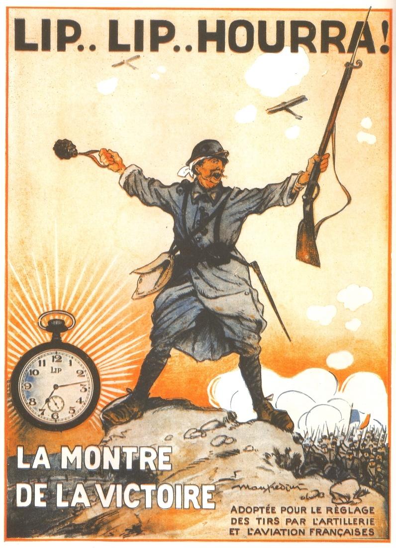 11 NOVEMBRE, Hommage Aux POILUS Pub-lip-guerre
