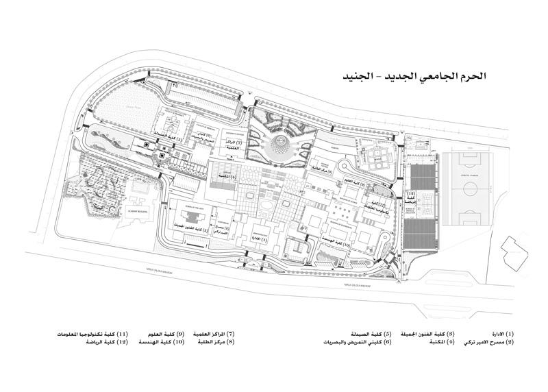 مباني جامعة النجاح New%20campus_MAP