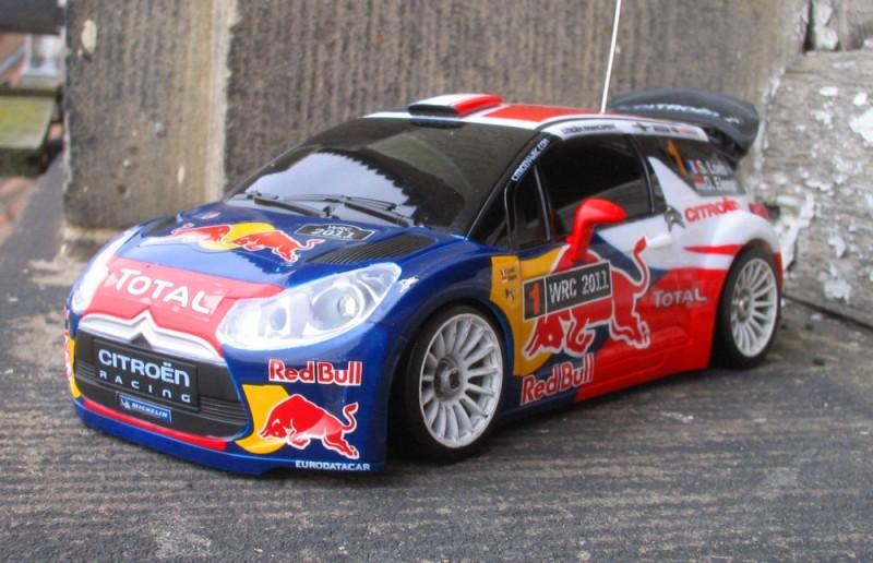 Nouvelle autoscale Citroën DS3 WRC Ds301