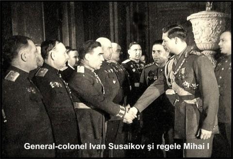 Regele Mihai I a abdicat în schimbul tablourilor şi banilor? De ce s-au simţit românii trădaţi pe 30 decembrie 1947 General-susaikov-si-regele-mihai-480x329