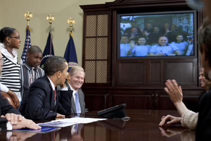 [STS-119] Discovery: la mission - Page 9 319148main_obama1