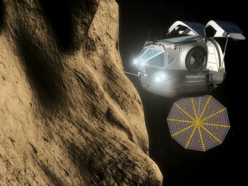 Poursuite du développement d'Orion - Page 5 571913main_sev_approaches_asteroid