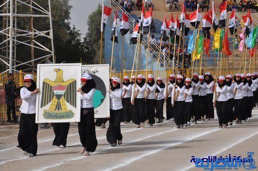 مبرات التضامن تشارك في المهرجان السنوي الكشفي لتربية ذي قار 14177nasiriyah008
