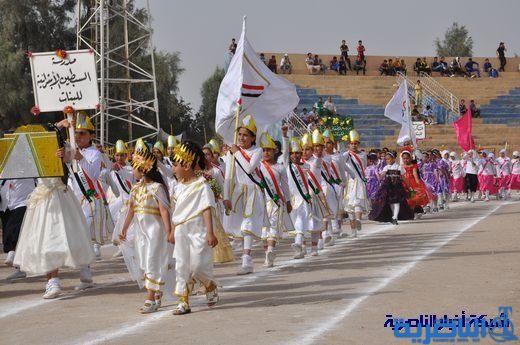 مبرات التضامن تشارك في المهرجان السنوي الكشفي لتربية ذي قار 14177nasiriyah012