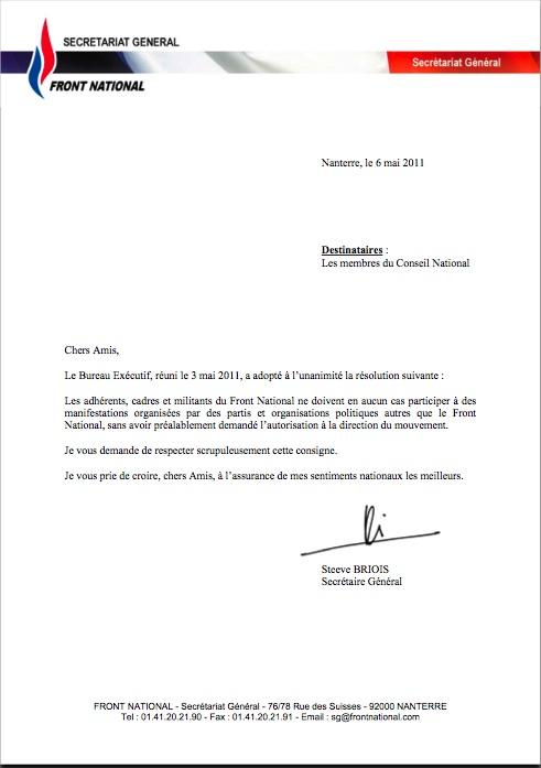 MDR  (Marine Le Pen, discours du 1er mai 2011) Manifestation-8e417
