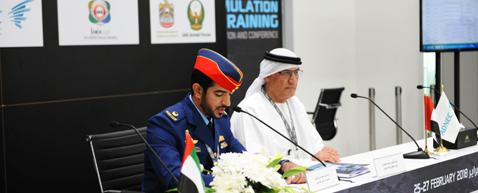 878.3 مليون درهم إجمالي صفقات القوات المسلحة الاماراتيه في معرض يومكس وسيمتكس 2018 Fd4edcc14e40d08f4d21ca94532044be