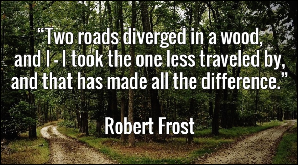 Illness: Call to Transformation and Awakening Robert-frost-quote