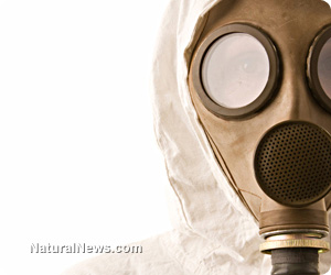 Battle for humanity nearly lost: global food supply deliberately engineered to end life, not nourish it Gas-Mask-Chemical-Weapon