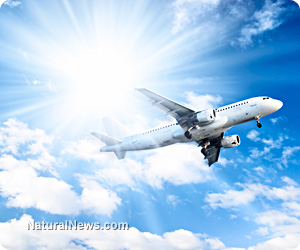 """Reader H: In Jordan's post titled """"What Is Going On With This Fake Malaysian """"Missing Airliner?"""" and OTHER NEWS AS IT COMES OUT Jumbo-Jet-Airplane-Fly-Sun-Blue-Sky"""