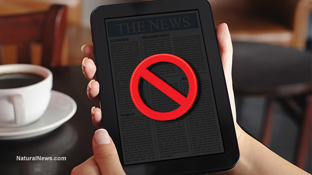 Online news sites to be blacked out during next major catastrophic event? News-Tablet-No-Symbol
